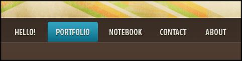 Esempio di menu su thuiven.com